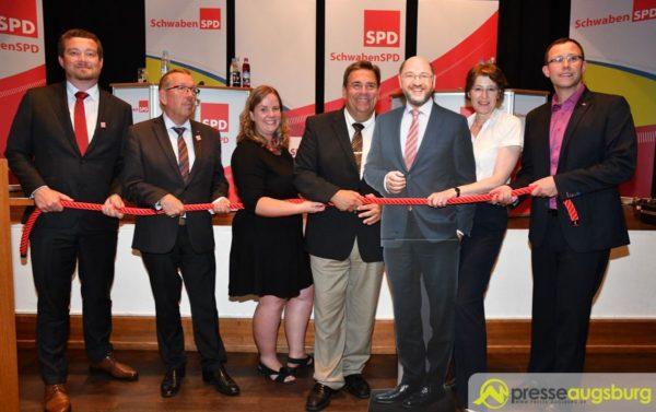 Schwaben SPD startet in Augsburg in den Bundestagswahlkampf