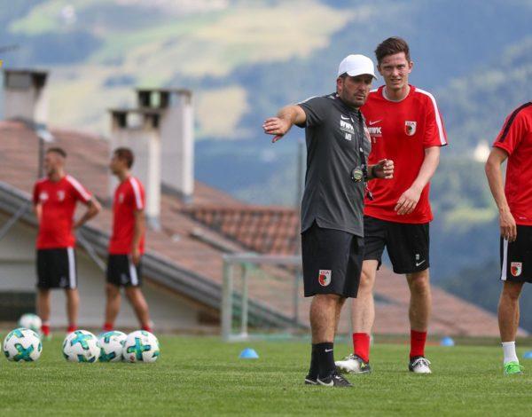 Der FC Augsburg in Südtirol | Trainingslager-Telegram