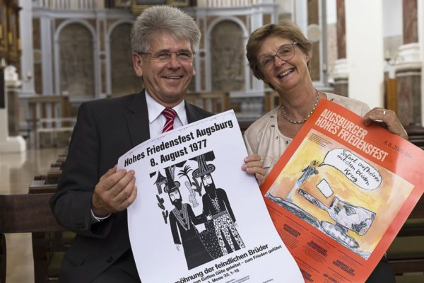 """40 Jahre Schüler-Malwettbewerb """"Augsburger Friedensbild"""""""