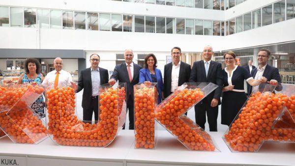 Kuka investiert 100 Mio. Euro in den Standort Augsburg