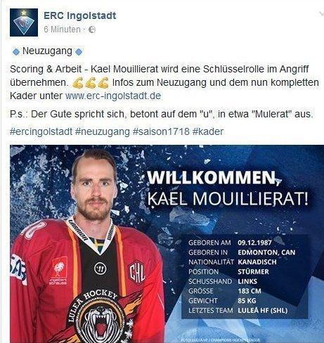 Unbenannt-24 ERC Ingolstadt verpflichtet Mouillierat aus Schweden mehr Eishockey Neuburg-Schrobenhausen ERC Ingolstadt  Presse Augsburg