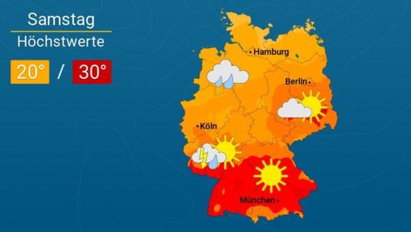 Freibadwetter | Das Wetter für Augsburg und Deutschland