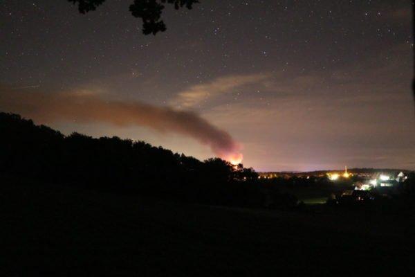 Erneut Feuer in Western-City in Dasing bei Augsburg
