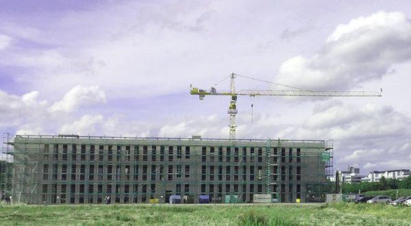 Richtfest für 43 Millionen Euro-Bau auf dem Universitäts-Campus in Augsburg