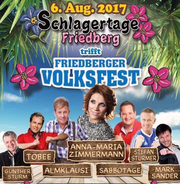 Gewinnspiel   Schlagertage treffen Friedberger Volksfest - Wir laden DICH ein!