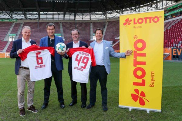 LOTTO Bayern verlängert Exklusivpartnerschaft mit dem FC Augsburg