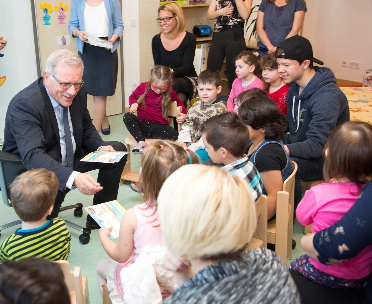 AA4A6118-PM In bayerischen Kindergärten darf weiter nach Herzenslust gesungen werden News Politik GEMA Johannes Hintersberger Kindergarten |Presse Augsburg