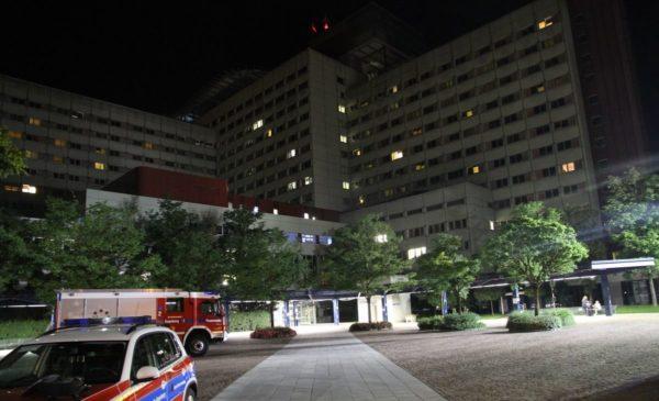 Brand im Augsburger Klinikum löst Großalarm aus - Einsatzkräfte waren schnell vor Ort