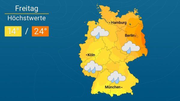 Richtig ungemütlich | Das Wetter für Augsburg und Deutschland