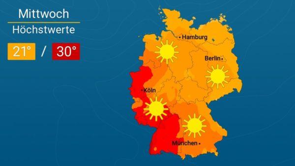 Der Spätsommer will es wissen | Das Wetter für Augsburg und Deutschland
