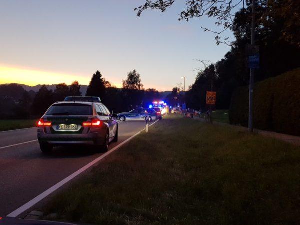 Unfall in Immenstadt |Auch Motorradfahrer und 16-jähriges Mädchen erliegen Verletzungen