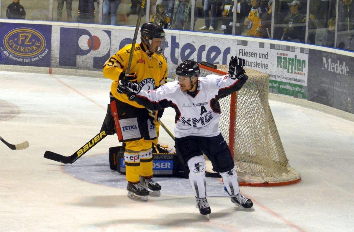 Jubel EHC Königsbrunn gewinnt überraschend in Füssen Landkreis Augsburg mehr Eishockey News Sport Unterallgäu EHC Königsbrunn EV Füssen |Presse Augsburg