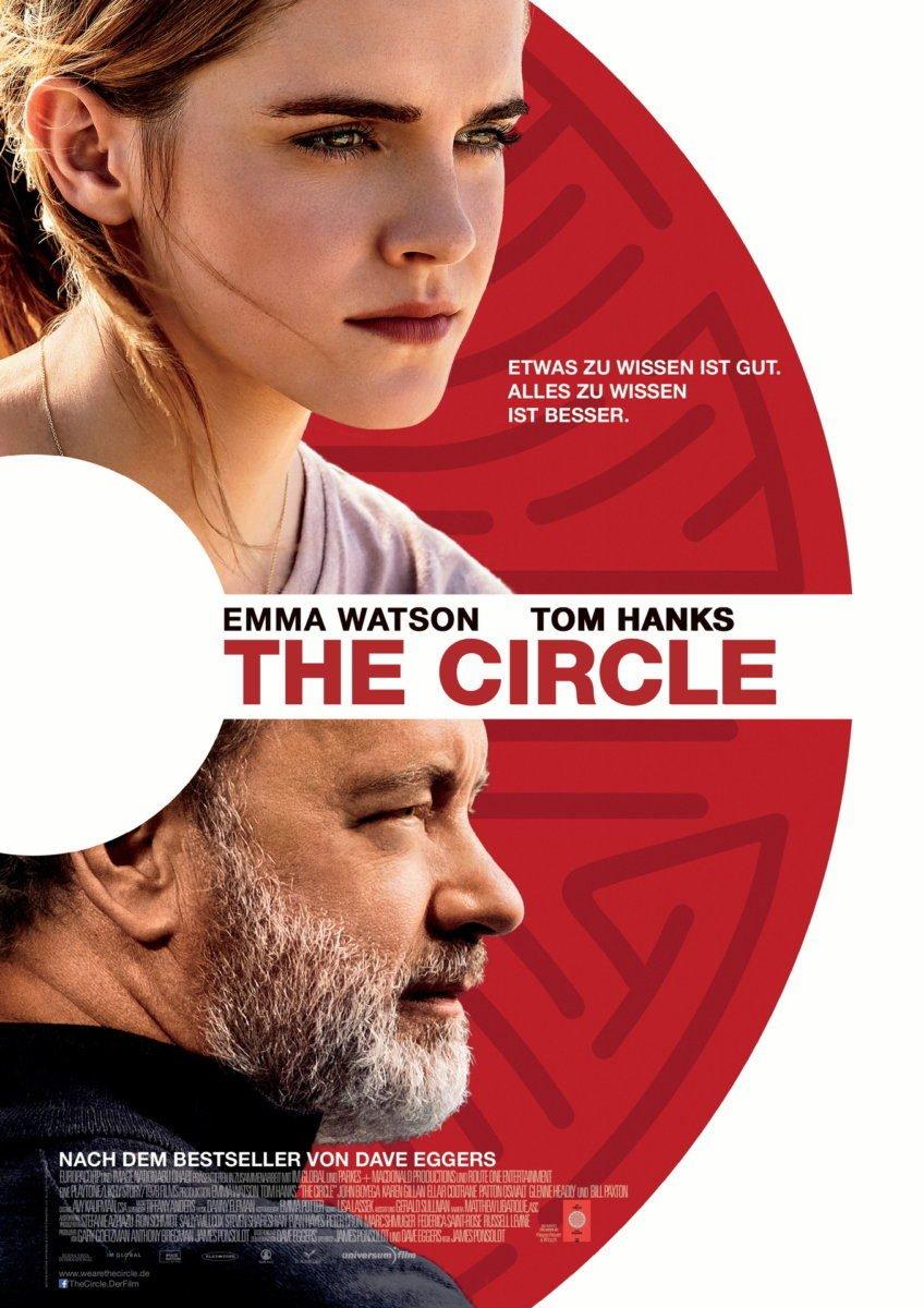 The-Circle_Filmposter-848x1200 BEENDET | Filmtipp der Woche & Gewinnspiel | powered by CinemaxX Augsburg Freizeit Gewinnspiele The Circle |Presse Augsburg