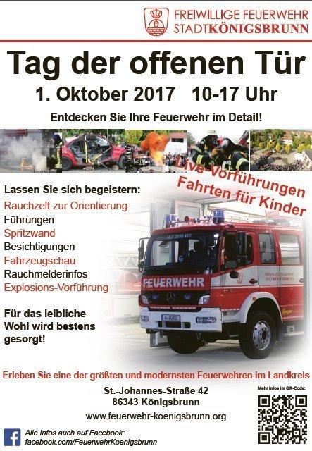 Unbenannt-26 Die Freiwillige Feuerwehr Königsbrunn lädt zum Tag der offenen Türe ein Freizeit Landkreis Augsburg News Polizei & Co Vereinsleben Feuerwehr Königsbrunn Tag der offenen Tür  Presse Augsburg