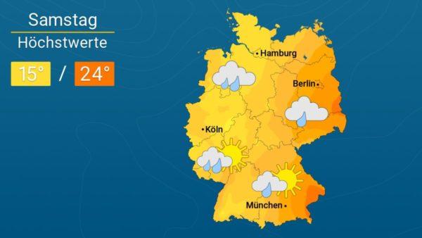 Quasimodo bringt Herbstwetter | Das Wetter für Augsburg und Deutschland