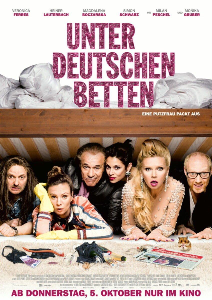 Unter-deutschen-Betten_Poster-848x1200 BEENDET   Gewinnspiel zum CinemaxX-Special mit Veronica Ferres am 8. Oktober Freizeit Gewinnspiele  Presse Augsburg