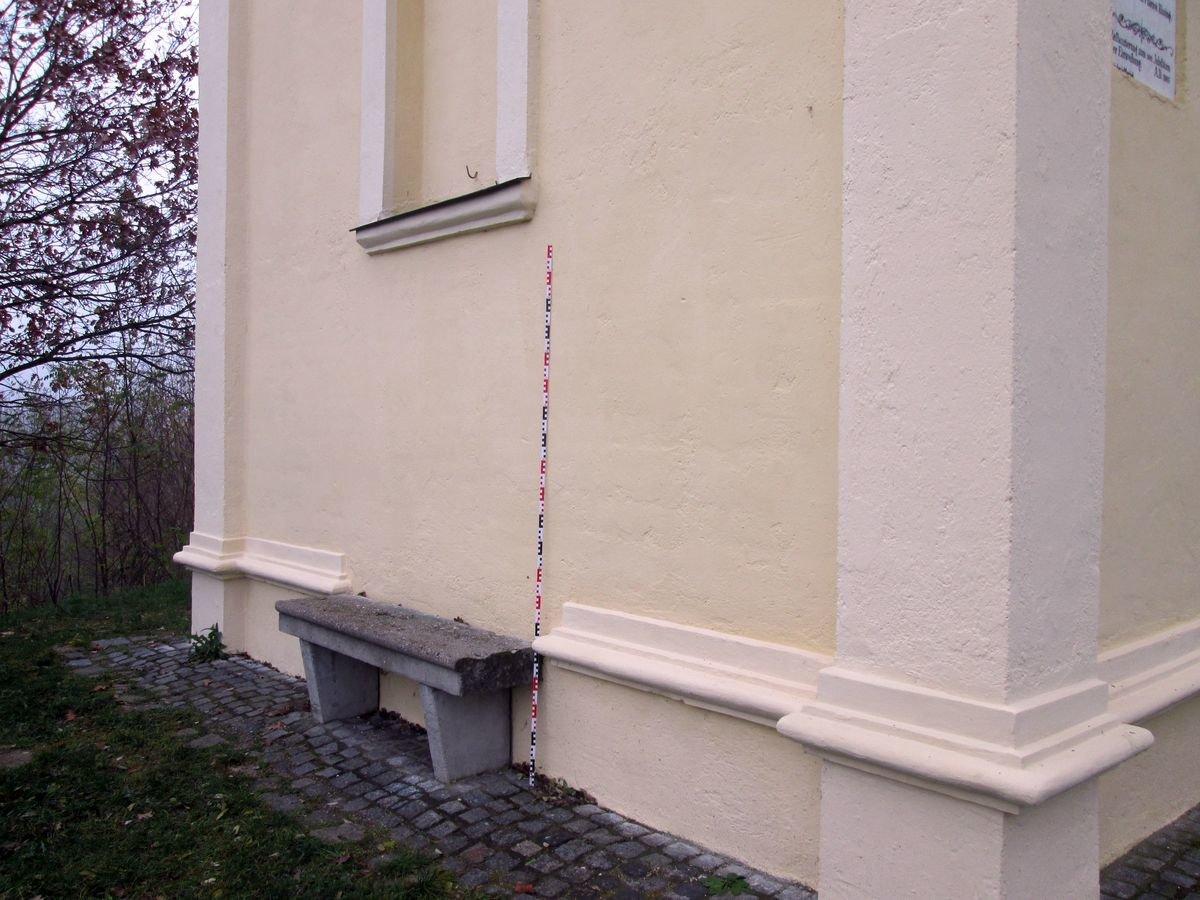 Klassische Stehlen unbekannte stehlen kreuz der kapelle am burgstall