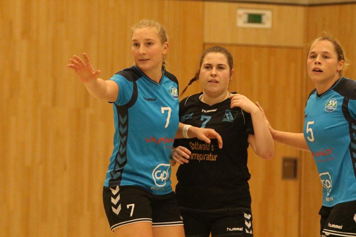001 Kissinger Handballdamen trennen sich unentschieden von München Laim Aichach Friedberg Bildergalerien Handball News Sport Kissinger SC SV München-Laim |Presse Augsburg