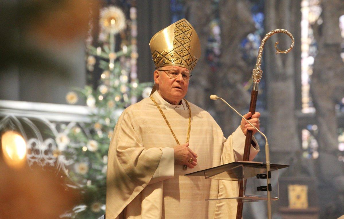 """Augsburger Bischof Konrad: """"Weihnachten ist kein bloß ..."""