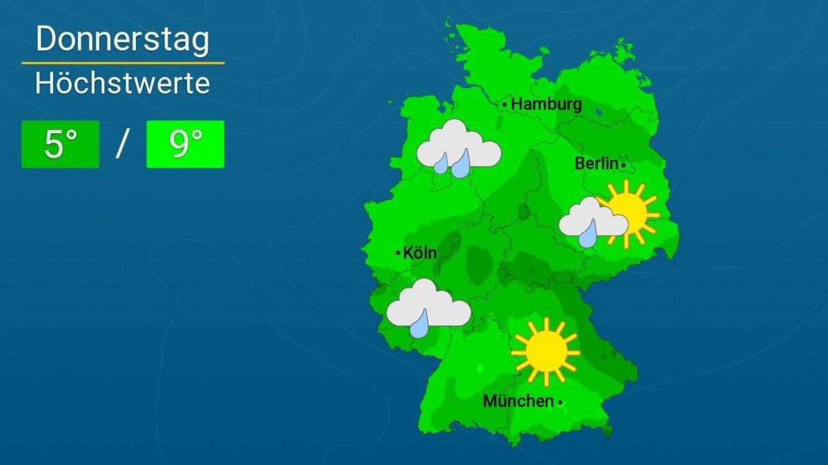 wetter in augsburg morgen