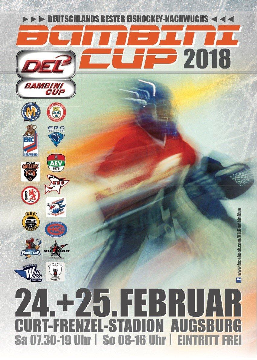 Bambini-Cup Augsburg | 15 Teams kämpfen um den DEL Bambini Cup Augsburg Stadt Augsburger Panther Sport DEL Bambini Cup |Presse Augsburg