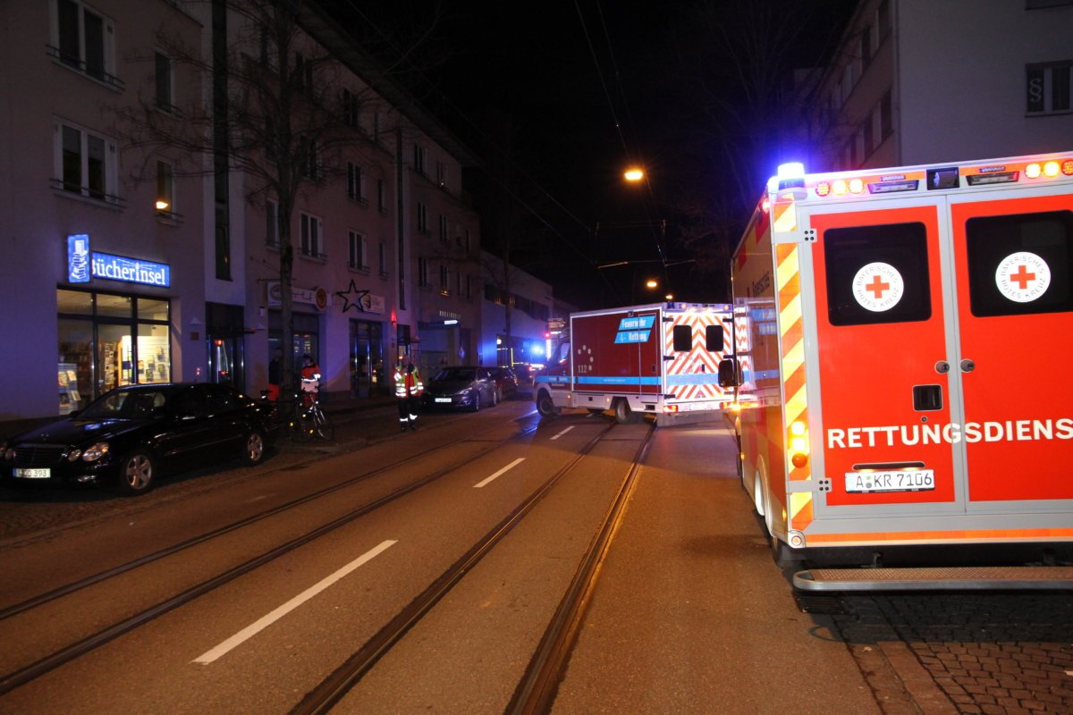 IMG_2586 Fast 230 Einsätze | Ein arbeitsreicher Jahreswechsel für die Feuerwehren und Rettungsdienstler in Augsburg Augsburg Stadt News Newsletter Polizei & Co Augsburg Feuerwehr Silvester |Presse Augsburg