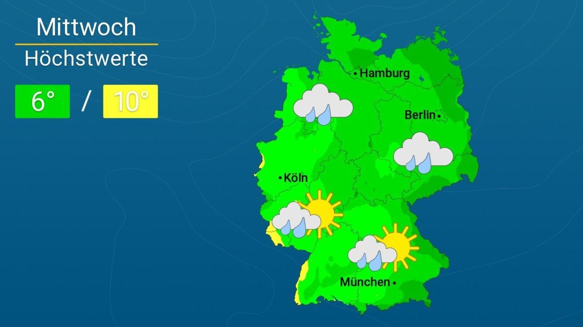 WetterOnline_DL_20180103 Sturmtief BURGLIND kommt - Regional Böen über Tempo 100 | Das Wetter für Augsburg und Deutschland Augsburg Stadt News Newsletter Wetter Augsburg Wettervorhersage |Presse Augsburg
