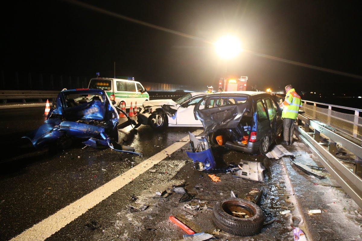 Tragischer Unfall auf der A9 bei Trockau: Erst Glück im Unglück und ...