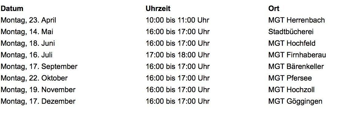 Bildschirmfoto-2018-02-28-um-20.39.02 Bürgersprechstunde mit Eva Weber am Montag in Lechhausen News Politik |Presse Augsburg