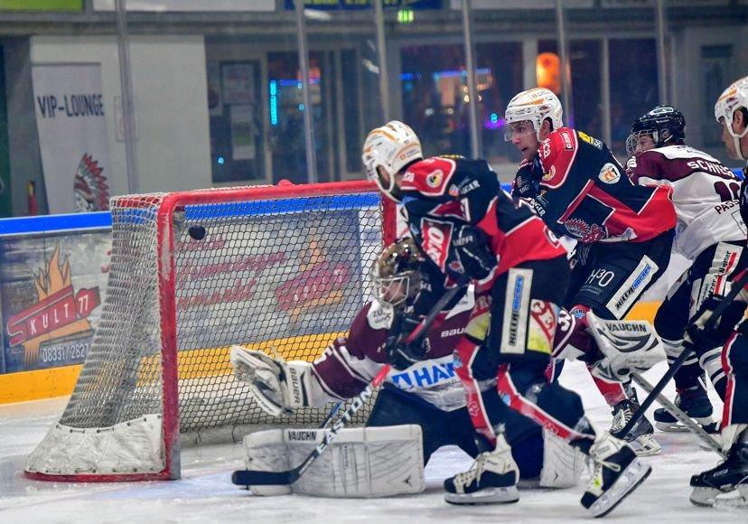 DSC_3387 Nächster Erfolg - Memmingen Indians schicken Passau mit 7:1 nach Hause mehr Eishockey Sport Unterallgäu ECDC Memmingen Indians EHF Passau Blackhawks |Presse Augsburg