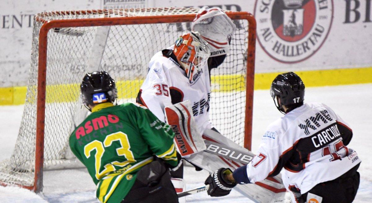 Kringo-1 EHC Königsbrunn untermauert Aufstiegsambitionen Bildergalerien Landkreis Augsburg mehr Eishockey News Sport EHC Königsbrunn EV Moosburg |Presse Augsburg