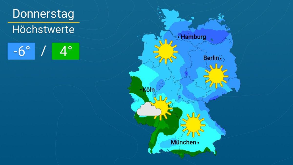 WetterOnline_DL_20180301 Schöne Wintertage | Das Wetter für Augsburg und Deutschland News Newsletter |Presse Augsburg