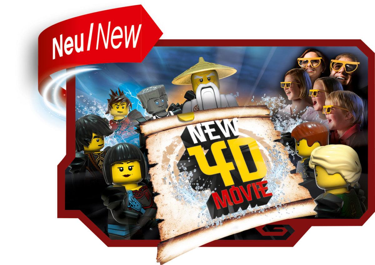 03_NINJAGO_4D_Movie Familien-Gewinnspiel | Das Legoland Deutschland startet mit mit vier spannenden Neuheiten in die Saison Bildergalerien Freizeit Gewinnspiele Günzburg News Newsletter Günzburg LEGO Legoland Deutschland Legoland Feriendorf |Presse Augsburg