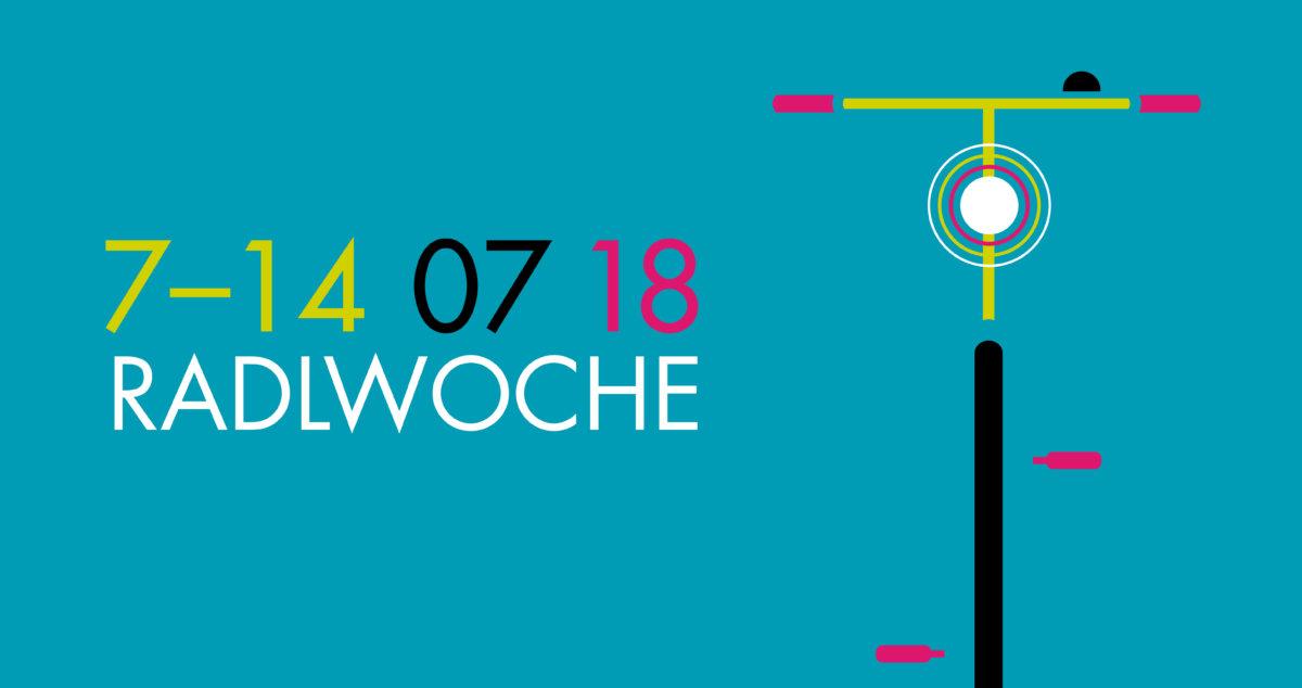 """KeyVisual_Radlwoche_2018 """"Ja, i bin mitm Radl da!""""   Augsburger sind aufgerufen Vorschläge zur Radlwoche einzureichen Freizeit News Augsburger Radlnacht Radlwoche Stadtradeln  Presse Augsburg"""