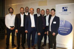 Eine positive Bilanz - Marketing Club Augsburg wählt neue Vorstandschaft