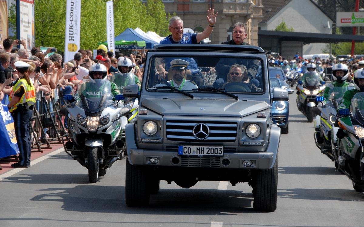 korso Motorradsternfahrt in Kulmbach bot Zweiradfans ein willkommenes Ausflugsziel Überregionale Schlagzeilen Vermischtes Kulmbach Motorradsternfahrt  Presse Augsburg
