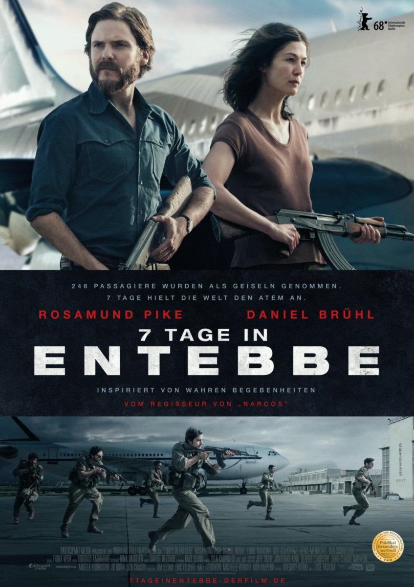 7-Tage-in-Entebbe_Filmplakat BEENDET | Filmtipp der Woche & Gewinnspiel | powered by CinemaxX Augsburg Freizeit Gewinnspiele Kunst & Kultur 7 Tage in Entebbe |Presse Augsburg