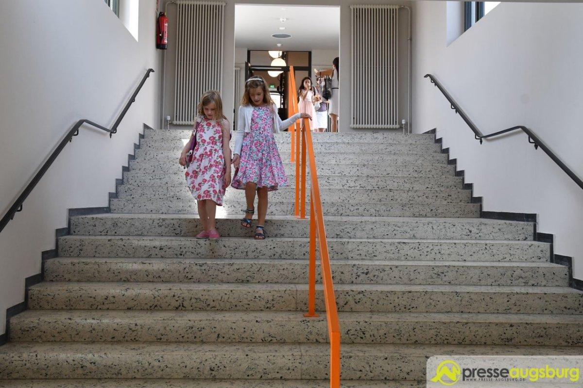 2018-06-11-Eichendorfschule-–-30 Bildergalerie | Die Sanierung der Eichendorff-Grundschule in Augsburg-Haunstetten ist abgeschlossen Augsburg Stadt Bildergalerien News Augsburg-Haunstetten Eichendorff Grundschule |Presse Augsburg