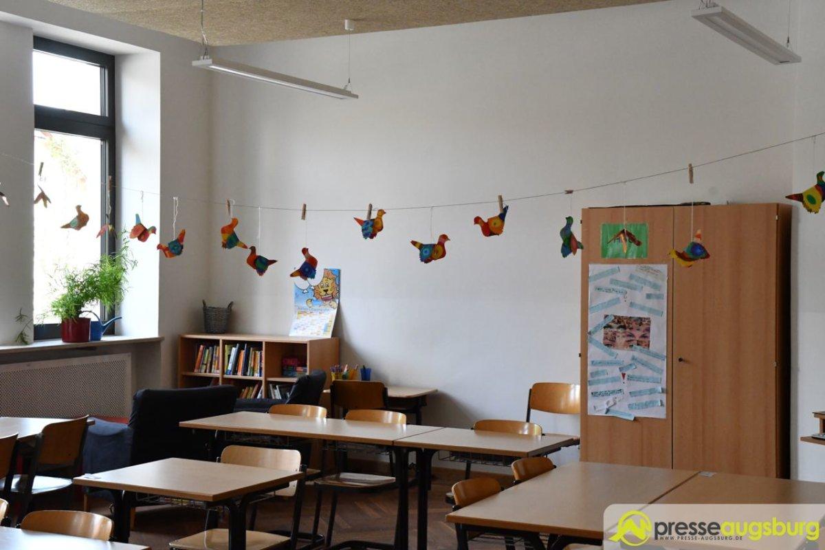 2018-06-11-Eichendorfschule-–-41 Bildergalerie | Die Sanierung der Eichendorff-Grundschule in Augsburg-Haunstetten ist abgeschlossen Augsburg Stadt Bildergalerien News Augsburg-Haunstetten Eichendorff Grundschule |Presse Augsburg