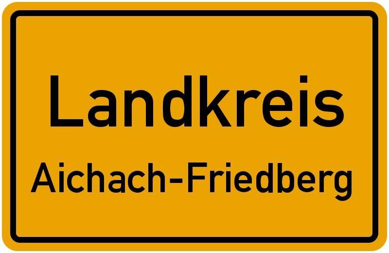 Landkreis.aichach Friedberg