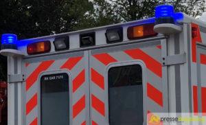 In Gegenverkehr geraten - Drei Verletzte bei Unfall in Neuburg