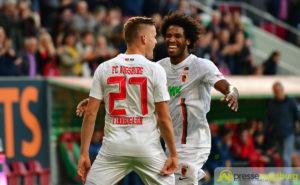 Finnbogason führte den FC Augsburg bei seinem Comeback mit drei Treffern zum 4:1 Sieg gegen Freiburg