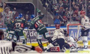 Augsburger Panther nach Heimsieg über Köln weiter in der Spitzengruppe