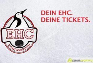 Gewinnspiel | Dein EHC. Deine Tickets. - EHC Köngisbrunn vs. EC Bad Kissinger Wölfe