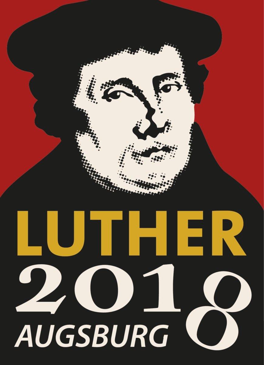 luther_2018_logo 500 Jahre Luther in Augsburg - Landesbischof Bedford-Strohm stellt sich auf der Luther-Couch den Fragen Augsburg Stadt Kunst & Kultur News Augsburg Luther Prof. Dr. Heinrich Bedford-Strohm St. Anna |Presse Augsburg