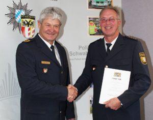 Amtswechsel in der Führungsspitze des Polizeipräsidiums Schwaben Süd/West