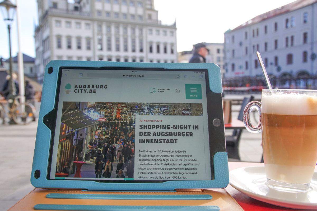 20181126 Augsburg City Wlan Kostenloses Wlan Für Die Fußgängerzone