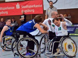 Es war mehr drin | Sieg und Niederlage für die Auxburg Basketz