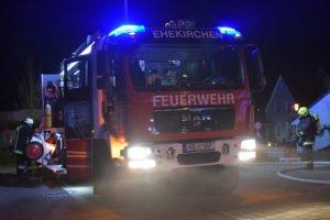 Neuburg-Schrobenhausen |Garagenanbau in Ehekirchen fängt Feuer
