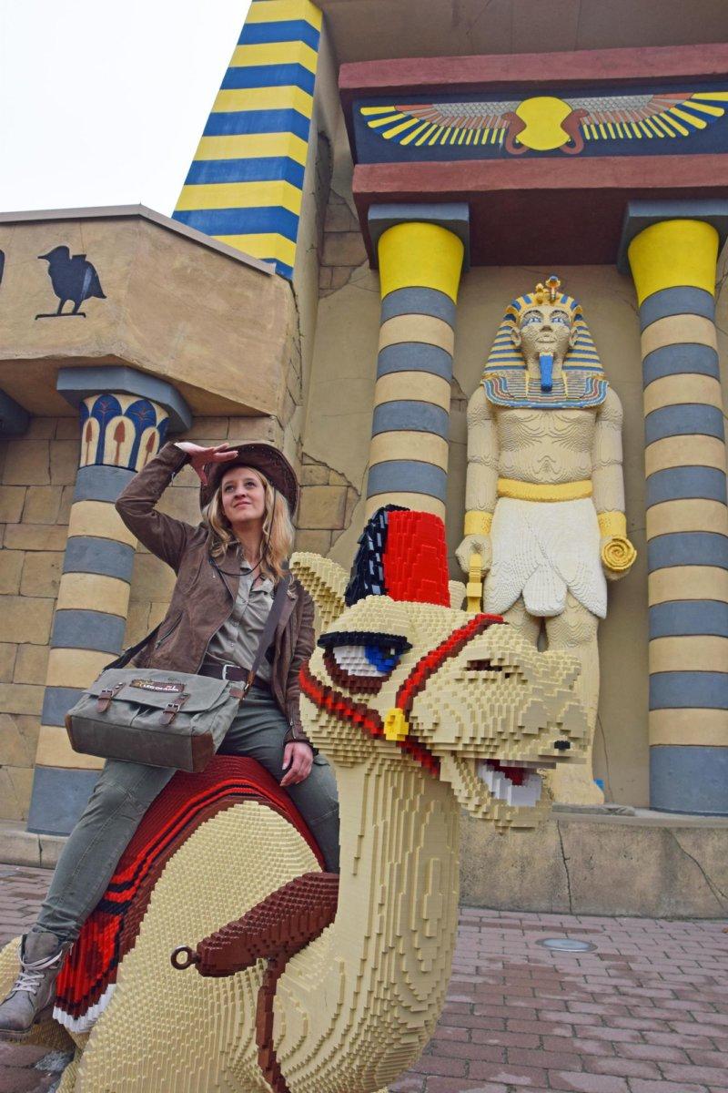 LEGOLAND_Entdeckerin_Elena Das Reich der Pharaonen   Neuer Legoland -Themenbereich ab dem Frühjahr 2019 Freizeit Günzburg News Newsletter Land der Pharaonen Legoland Deutschland Neuheiten  Presse Augsburg